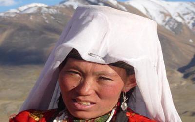 Kyrgyz woman, Little Pamir