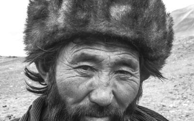 The village leader of Kash Goz, the gateway to Little Pamir