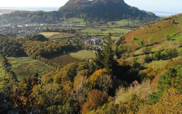 Moel Y Gest From The Cliffs Above Tremadog