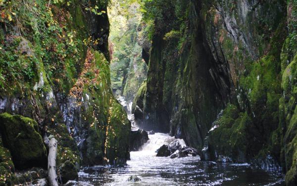 The Fairy Glen Near Betws Y Coed