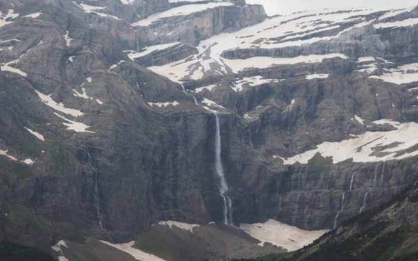 Gavarnie's Grande Cascade ('Large Waterfall') is one of Europe's highest waterfalls with its 442m
