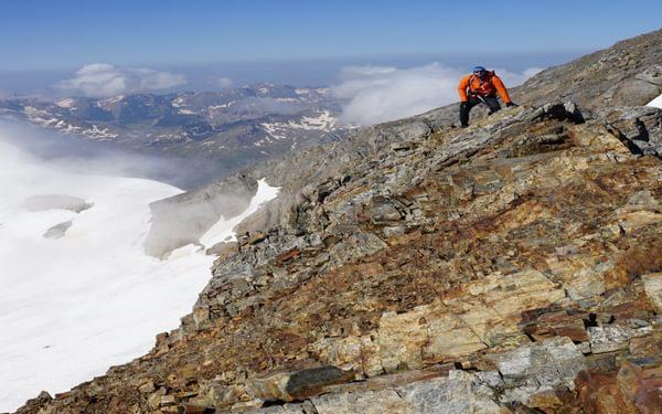 The exciting ridge part