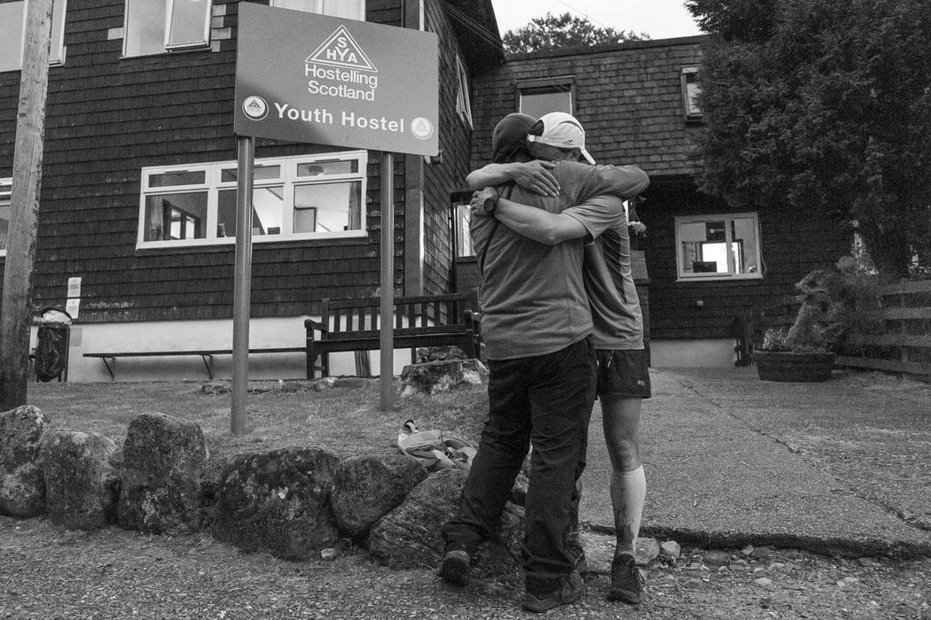 Father and son celebrate Joe's achievement