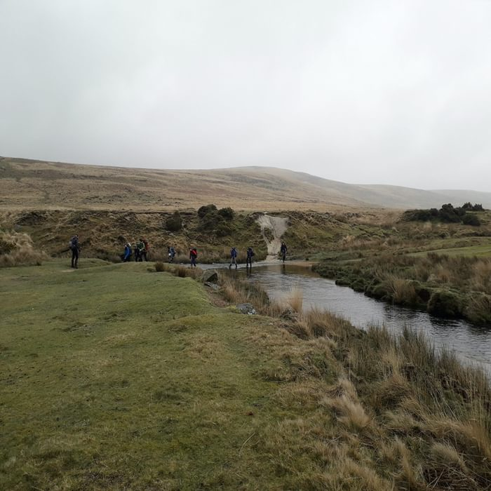 A simple river crossing
