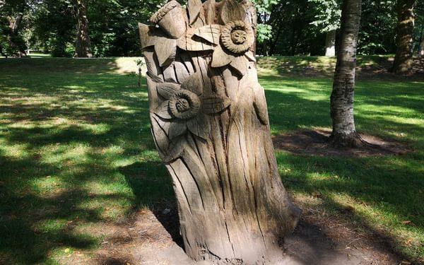 Another Bute Park sculpture