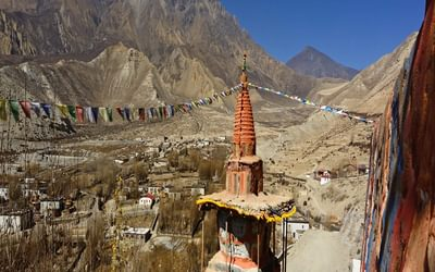 the once forbidden Kingdom of Mustang