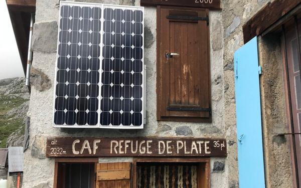 4 The Refuge de Platé