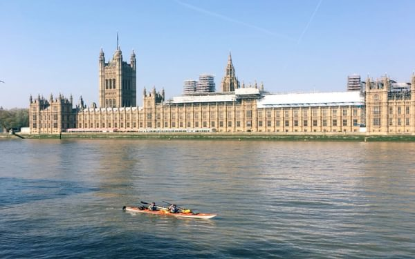 Our five-month expedition began on 21st April 2018 at Westminster Bridge. We were incredibly lucky with the weather!
