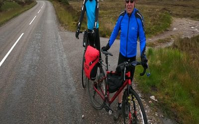 Day 6 02 On the Road Between Kinlochewe and Torridon