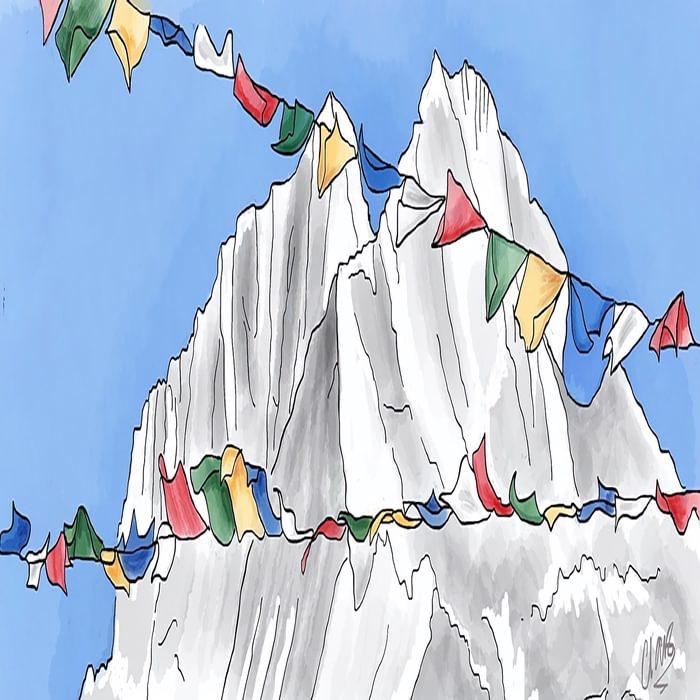 Himalayan flags