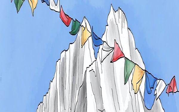 Himalayan flags TH