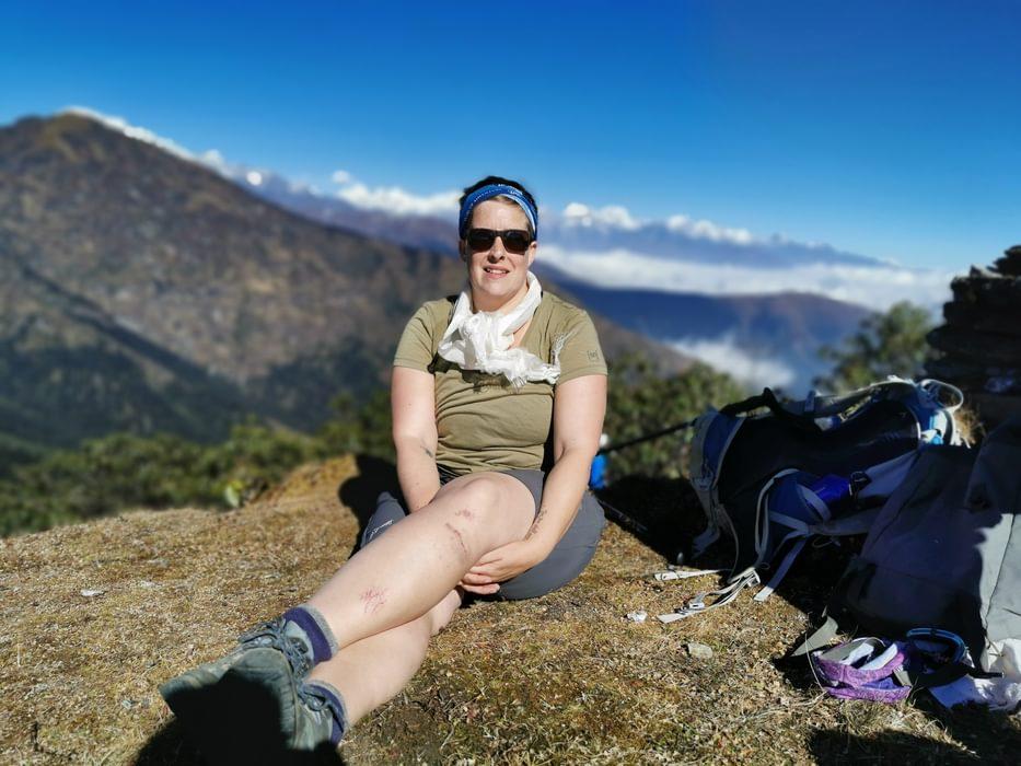 Hannah in Nepal