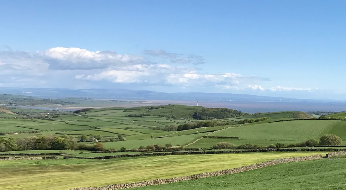Morecambe Bay from Lowick