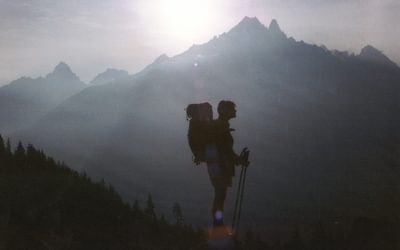 Above Chamonix
