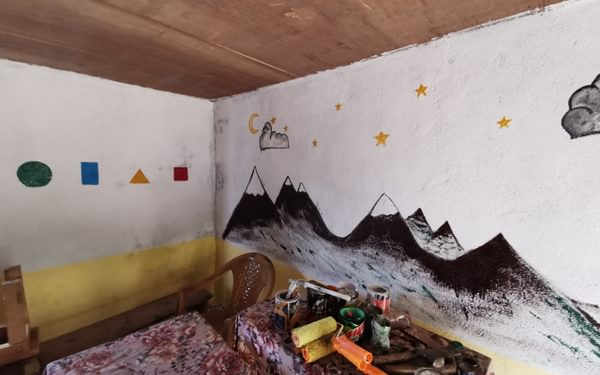 Finished murals