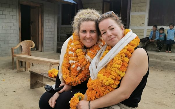 Sheree and Sarahann - we all felt so special after our incredible welcome