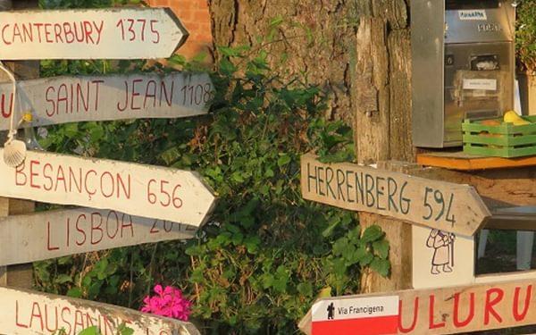 camino Signage