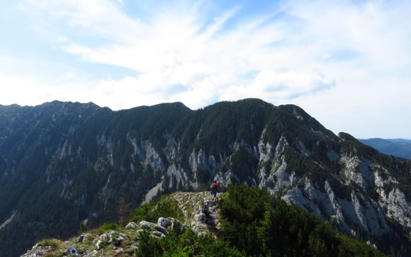 Piatra Craiului main ridge