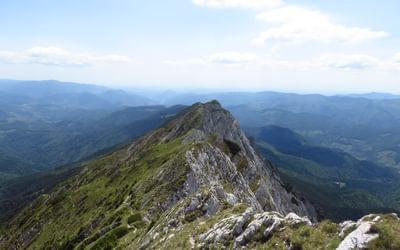The southern ridge
