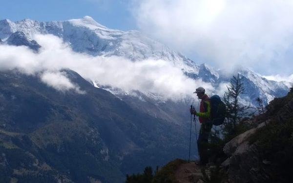 Saastal Glaciers TH