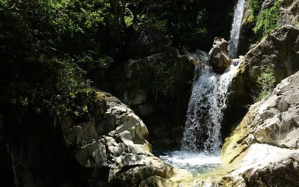 Iliochori waterfalls