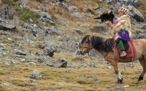 Meeting the nomadic eagle hunters of Mongolia