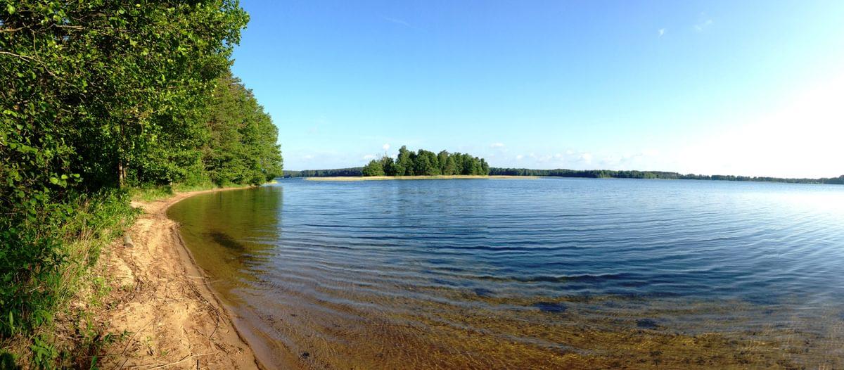 Pine Tree Island Beach