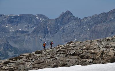 final climb to Monte Mongoia