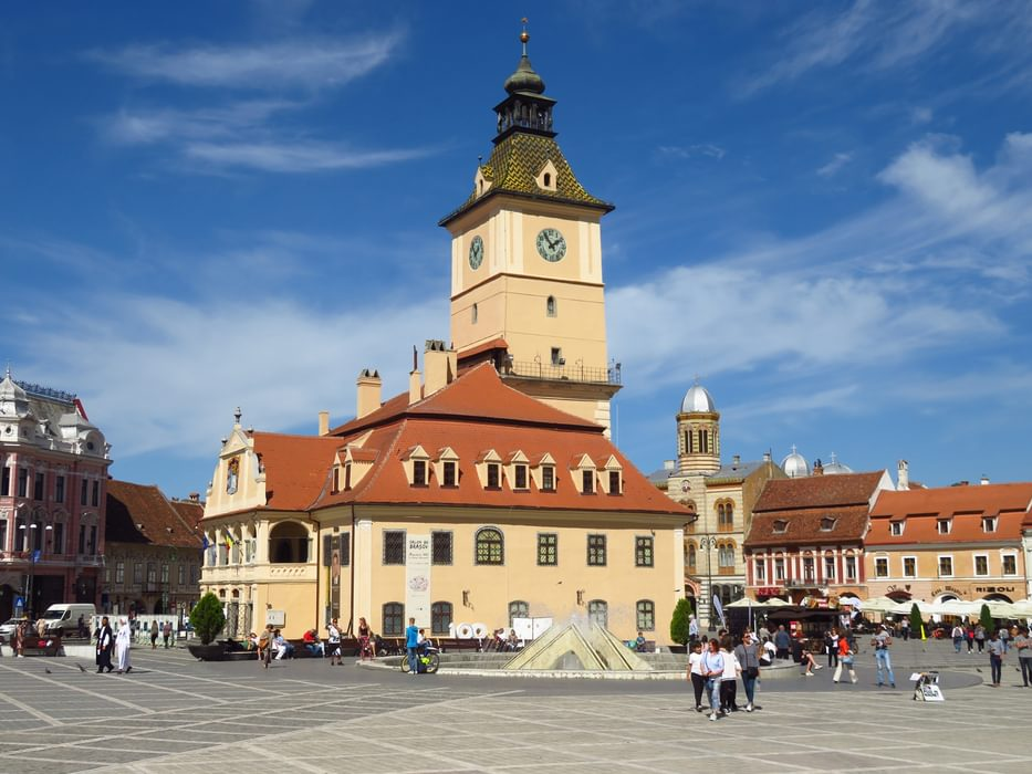 central square in Braşov