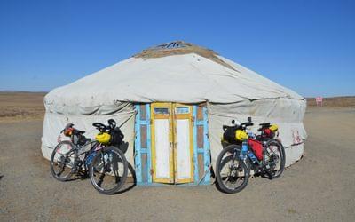 A yurt near Kapchagay