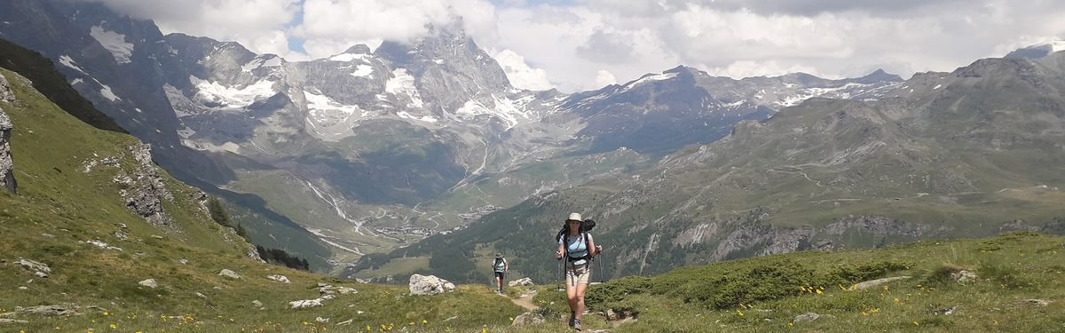 Climbing from Cervinia
