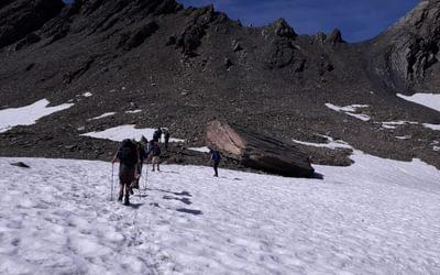 Permanent snowfields