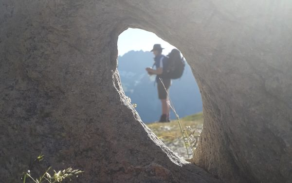 summit of Col Champillon