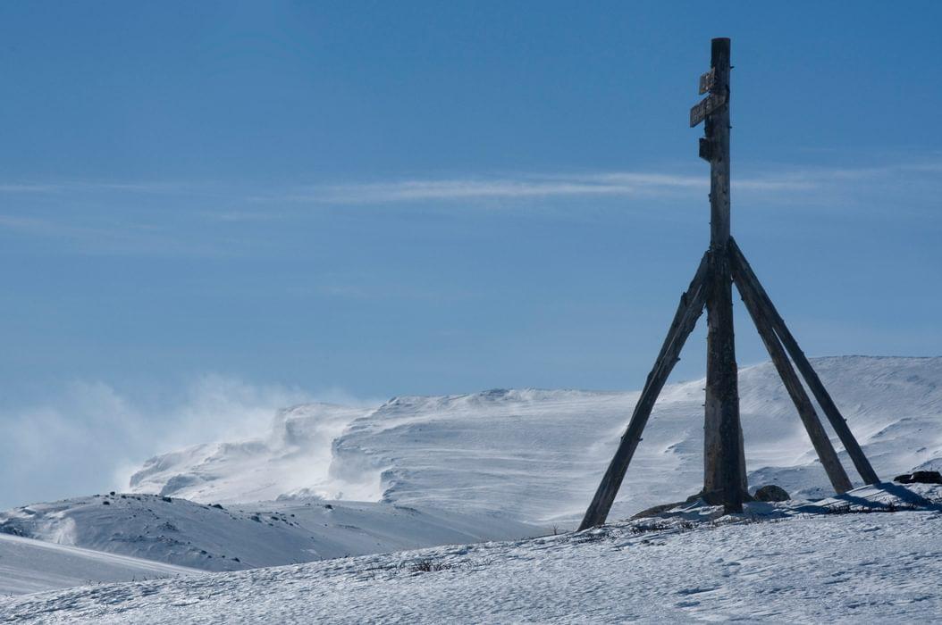 On the descent to Skriurusten
