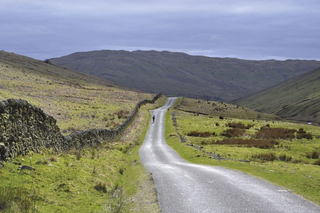 Remote cycling in the Yorkshire dales