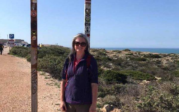 Heather Kirkland on the Rota Vicentina
