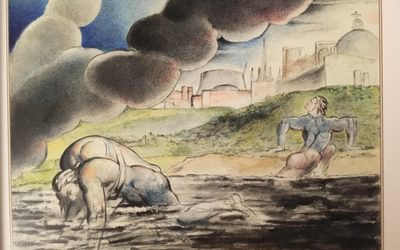 Slough of Despond, by William Blake