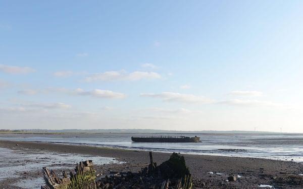 Rotting boats, Murston