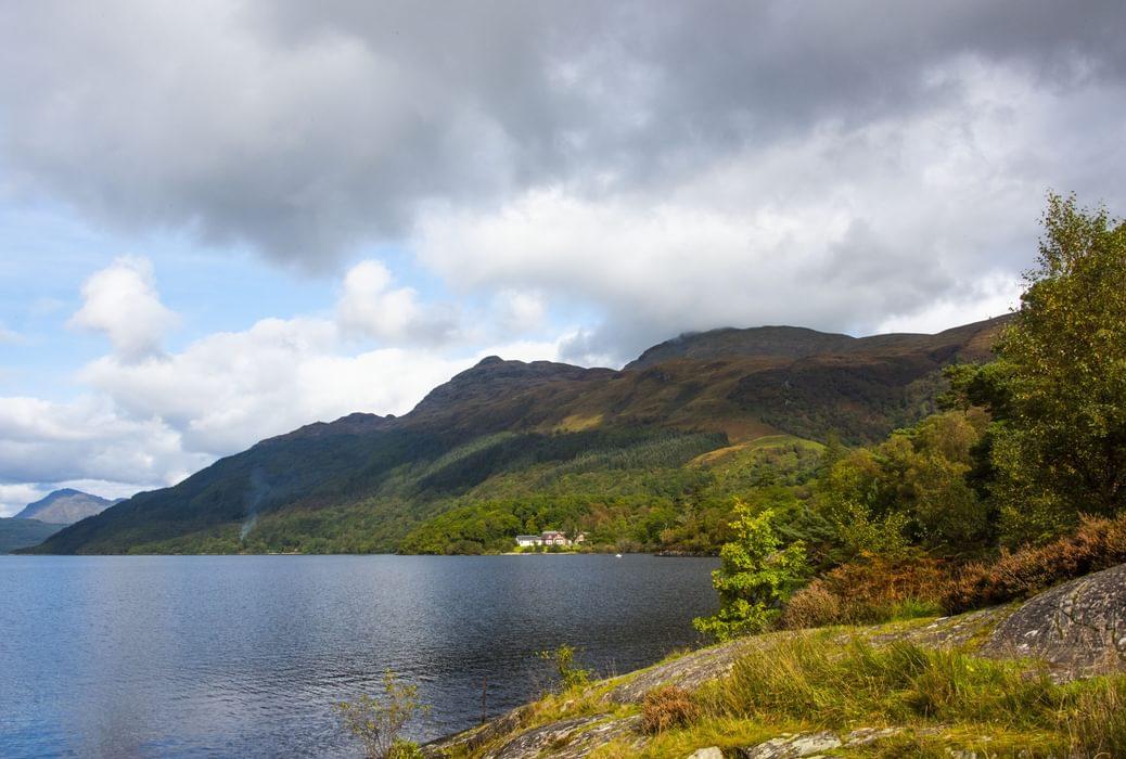Ptarmigan and Loch Lomond at Rowardennan