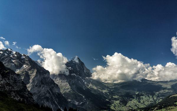 Grosse  Scheidegg To  Eiger