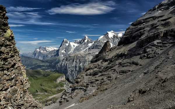 View From  Sefininfurge Back To  Sefinental Valley