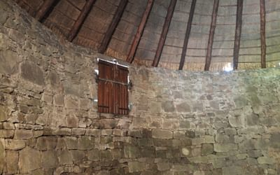 The Interior And Ceiling Of The Ice House With An Upper Door Gillian Price