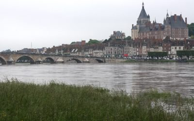 The Flood Dykes At Gien