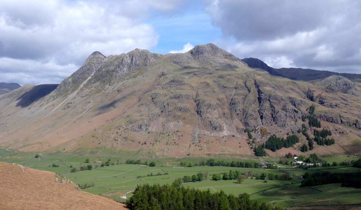 Great  Langdale In The  Lakes