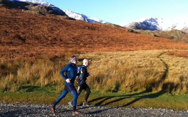 Trail Running In The  Lake  District