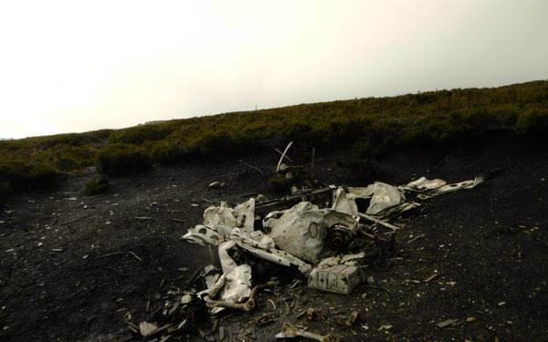 Remains Of The 1951  Consul Crash