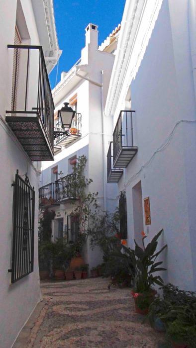 The Narrow Streets Of  Frigiliana