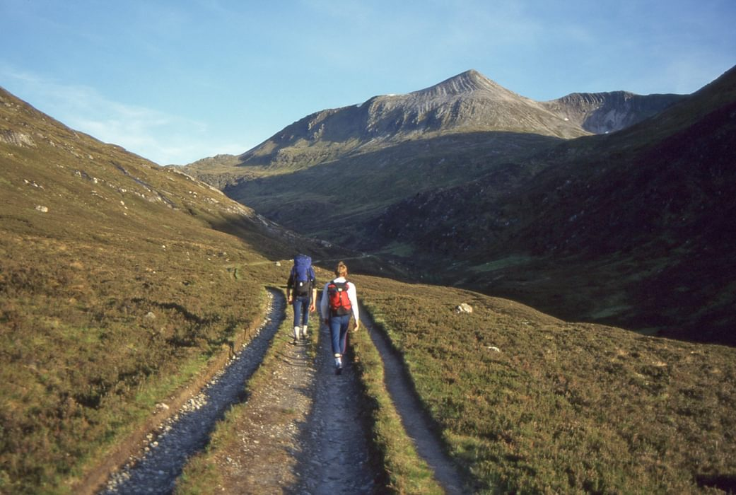 Lairig Leacach At The End Of The Grey Corries With Stob Coirena Ceannain Above