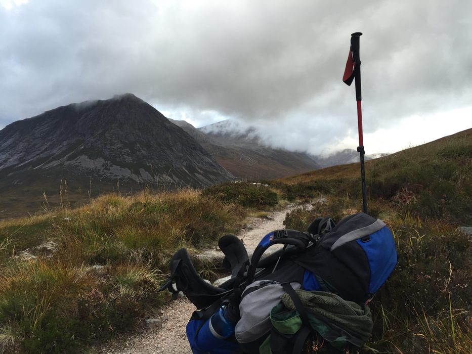 Our Packs Were Heavy And Bulging With Food And Gear For Five Days