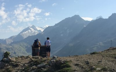 On The  Gr5 Through The  French  Alps